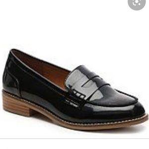 Steve Madden Cyylo Black loafer size 10 EUC